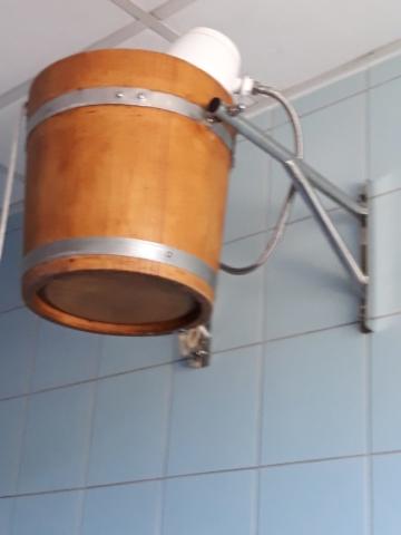 Wiadro z zimną wodą sauna Wodnik Bielsk Podlaski